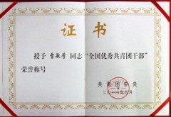 各类获奖荣誉证书图片模板